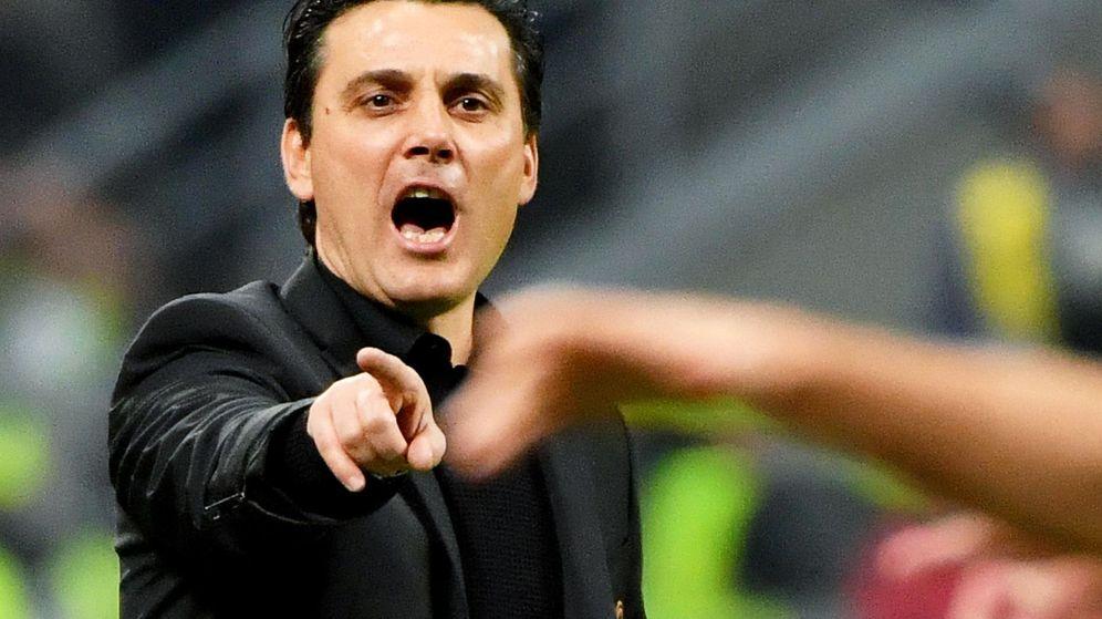 Foto: Vincenzo Montella fue destituido del Milán en noviembre. (EFE)