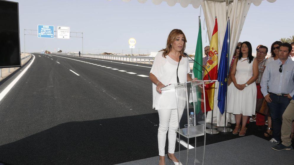 Foto: Susana Díaz, presidenta de la Junta de Andalucía. (EFE)
