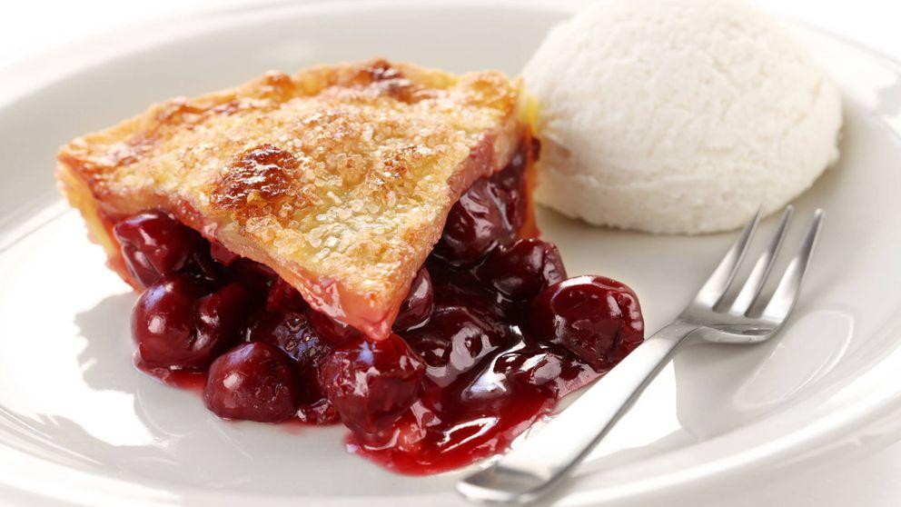 Cheesecake de cerezas ¡huele a verano!