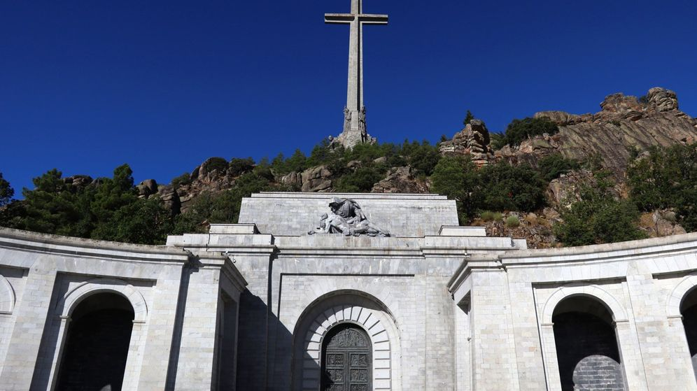 Foto: Entrada a la basílica del Valle de los Caídos. (EFE)