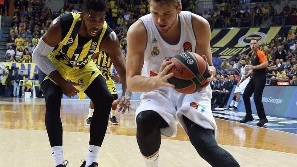 Foto: Luka Doncic acabó con 20 puntos, 8 rebotes y 10 asistencias. (Euroleague)