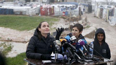 La sorpresa de Angelina Jolie a dos niños que recaudaban fondos con limonada