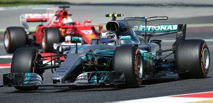 Post de ¿'Sartenazo' de Mercedes o mal día de Ferrari?
