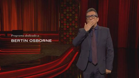 Buenafuente le dedica su programa a Bertín Osborne tras la polémica