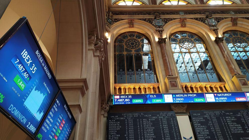Los bancos impiden la subida del Ibex en una sesión mixta en Europa