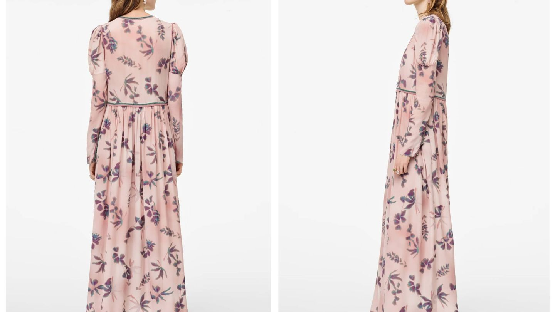El vestido de Zara bohemio. (Cortesía)