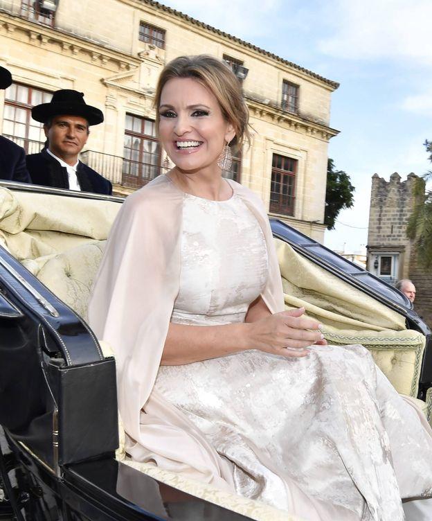 Foto: Ainhoa Arteta, espléndida el día de su boda. (Cordon Press)