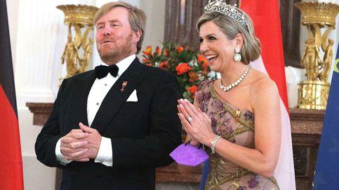La historia de la Stuart, la tiara de 'quita y pon' de Máxima de Holanda