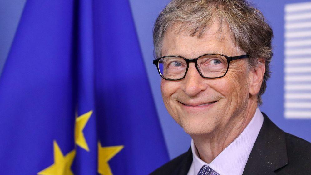 Foto: Bill Gates sabe lo que se lee. (EFE)