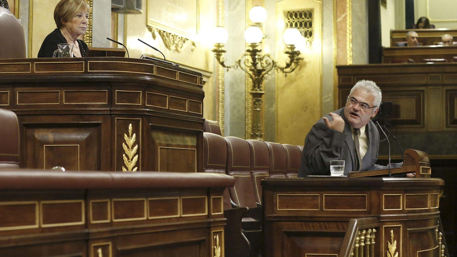 Foto: Feliu-Joan Guillaumes i Ràfols, en 2015. (EFE)