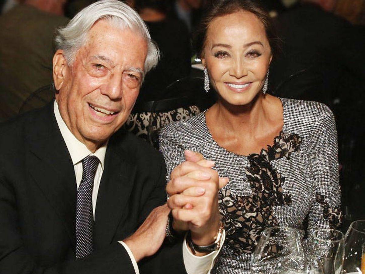 Foto: Vargas Llosa y Preysler. (Getty)