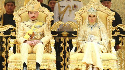 Zapatos de cristal y ramos de joyas: así ha sido la boda del príncipe de Brunei