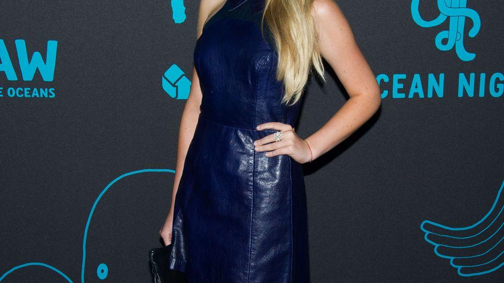 Tiffany Trump, la hija de Donald Trump, desfila en la New York Fashion Week