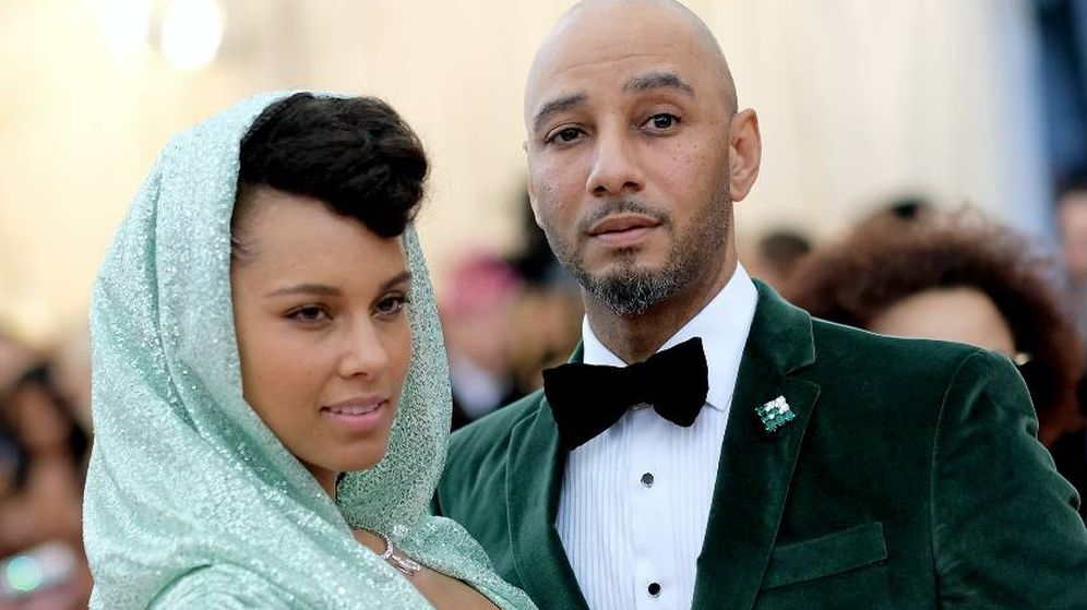 Foto:  Alicia Keys y su marido, Swizz Beatz. (Getty)