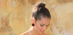 Post de Sara Salamo: el look perfecto para ir de boda, que se ha perdido su novio, Isco