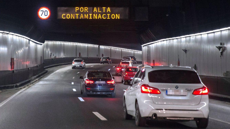 Madrid reduce este martes la velocidad máxima a 70 km/hora en la M-30 y accesos
