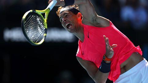 La cara y la cruz de Rafa Nadal en su buen estreno en el Open de Australia