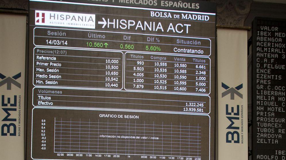 Foto: Toque de campana de Hispania hace año y medio