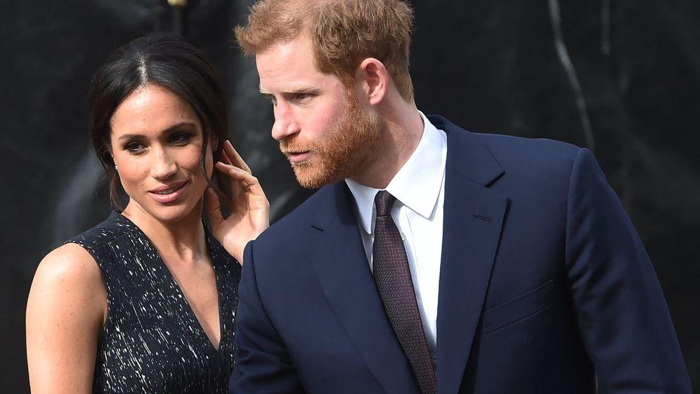 Foto: El príncipe Harry y Meghan Markle en una imagen de archivo. (EFE)