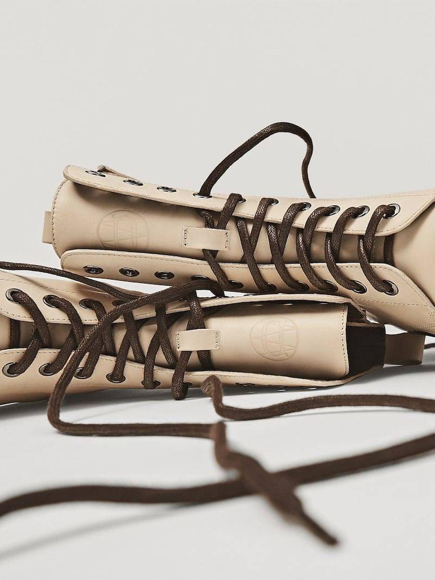 Los botines de Massimo Dutti. (Cortesía)