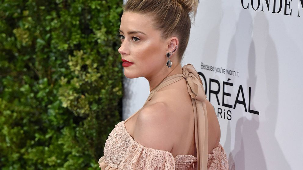 Amber Heard lanza entre lágrimas un vídeo a favor de las víctimas de maltrato