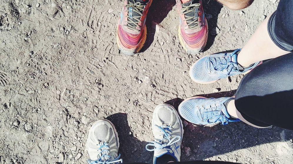 Foto: Cómo limpiar las zapatillas de 'running': consejos para correr más limpio. (Foto: Pedro Moya)