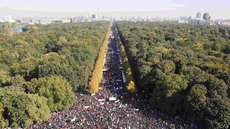 Foto: Álbum: Berlín toma la calle para protestar contra el libre comercio