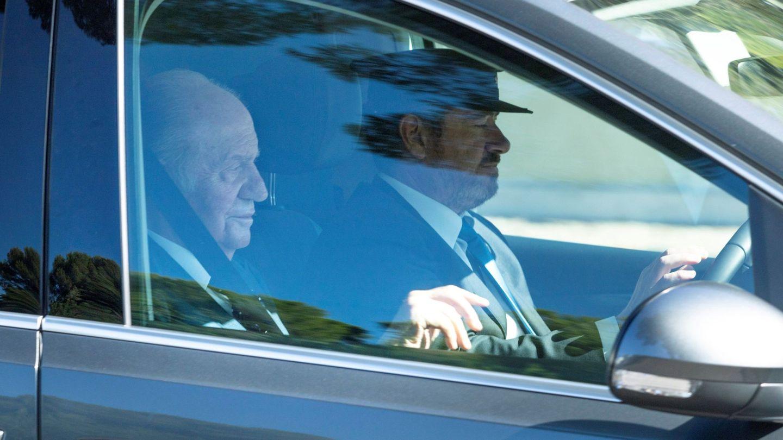 El rey Juan Carlos, invitado a la boda de Rafa Nadal y Mery Perelló. (EFE)