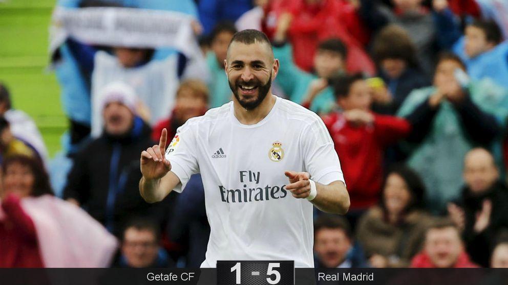 La euforia colectiva del Madrid sigue viva y vuelve a meter presión al Barça