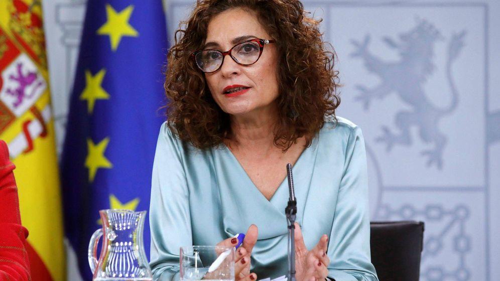 Foto:  La portavoz del Gobierno y ministra de Hacienda, María Jesús Montero. (EFE)