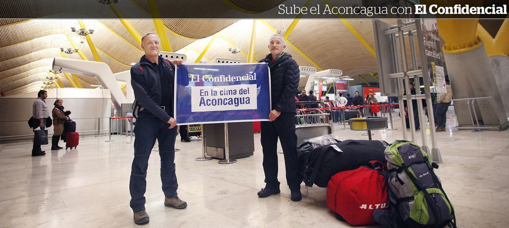 Foto: 'El Confidencial' se dirige a la cima del Aconcagua con Fernando Garrido