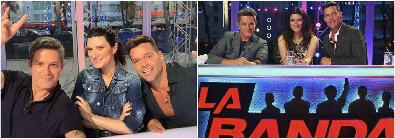 Foto: Alejandro Sanz, Laura Pausini y Ricky Martin