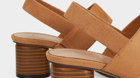 Parfois eleva tus looks con estas sandalias de tacón sensato aptas para usar todo el día