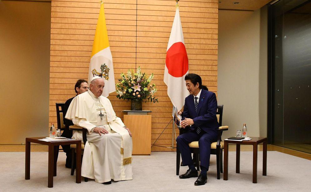 Foto: El papa Francisco visita Japón. (Reuters)