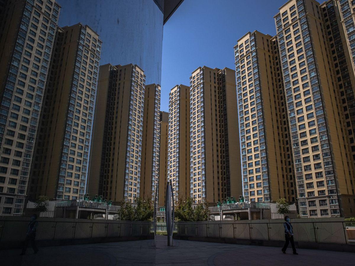 Foto: Ciudad de Evergrande en Beijing (China). (EFE)
