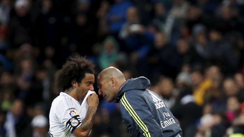 El lesionado Marcelo arrima el hombro porque Zidane no se fía de los demás