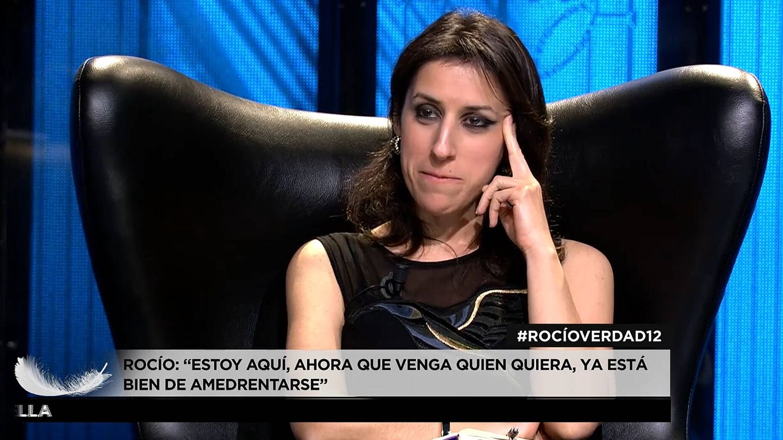 La periodista Ana Bernal-Triviño, en 'Rocío. Contar la verdad para seguir viva'. (Mediaset)