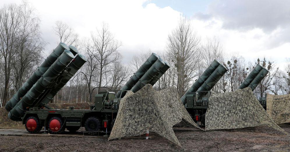 Foto: Una imagen de un sistema de misiles S-400 desplegados en Kaliningrado, Rusia. (Reuters)