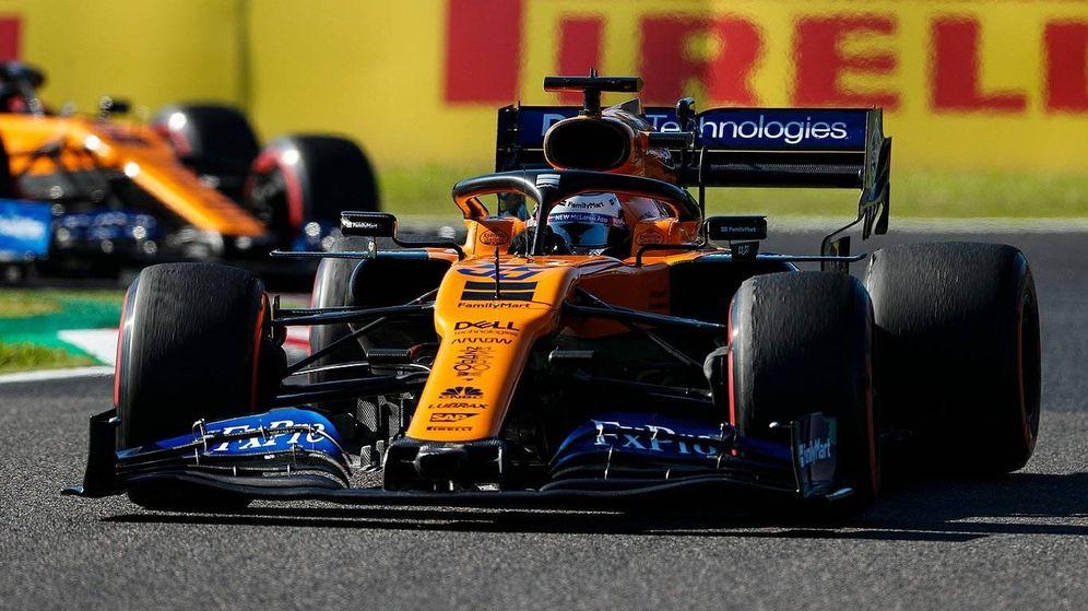 Foto: Carlos Sainz se ha convertido en un experto en las salidas. (McLaren)