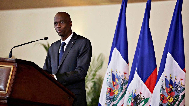 Foto: Jovenel Moïse en octubre de 2020. (Reuters)