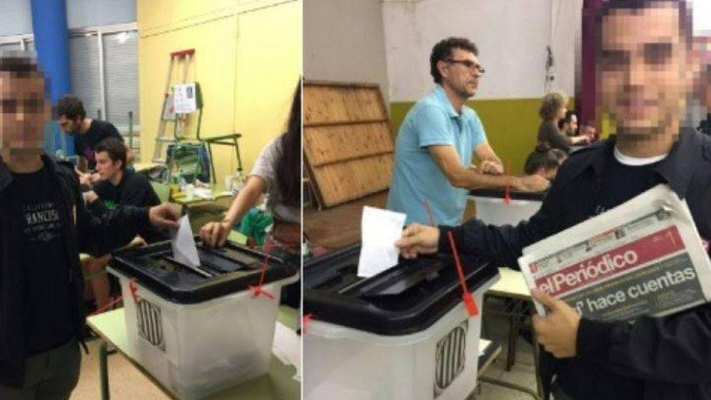 Foto: Sociedad Civil distribuye imágenes de un mismo vecino votando dos veces