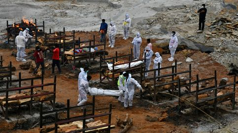 India roza los 20 millones de contagios de covid-19 con 368.147 nuevas infecciones