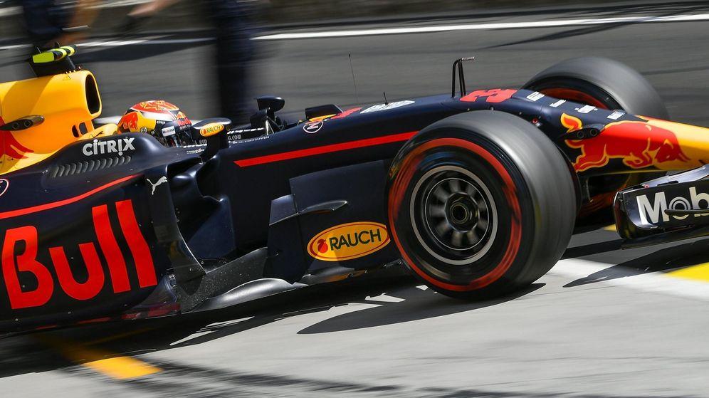 Foto: Verstappen durante el fin de semana de Hungría. (EFE)