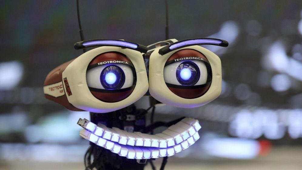 Foto: Feria Mundial de Robots en Pekín. (EFE)