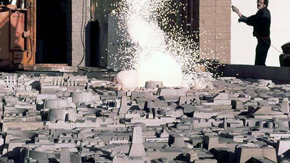 'Star Wars': cómo hacer explotar la Estrella de la Muerte a la antigua usanza