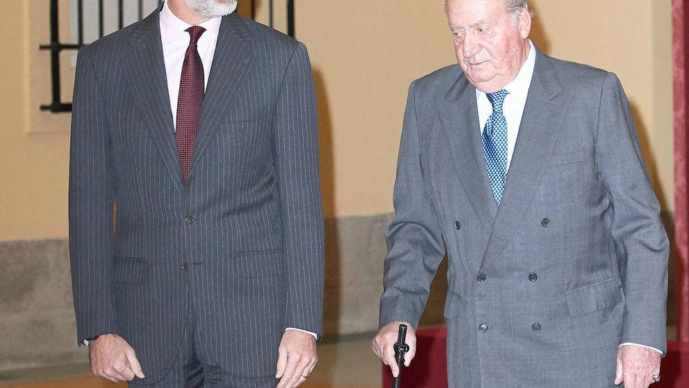 Felipe VI y Juan Carlos I, juntos en la agenda oficial medio año después