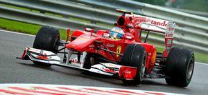 Alonso partirá desde la décima posición en el Gran Premio de Bélgica