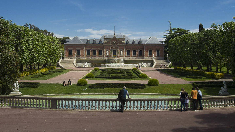Vista general del Palacete Albéniz y los jardines de Joan Maragall. (Ayuntamiento de Barcelona)
