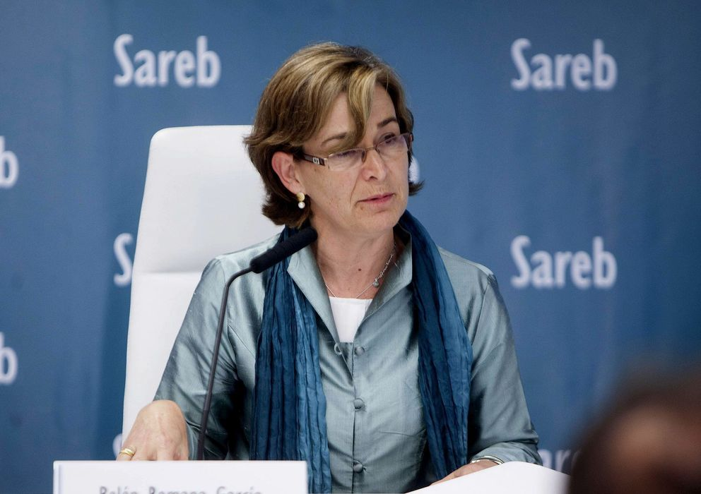 Foto: Belén Romana, presidenta de Sareb (Efe)