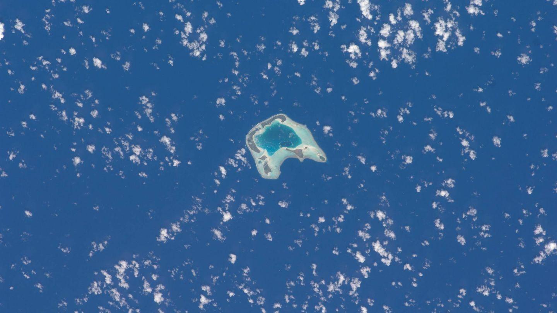 La isla de Brando, desde las alturas. (Cordon Press)